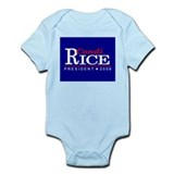 CONDI RICE PRESIDENT 2008 Infant Creeper