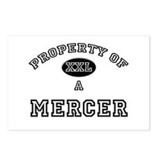 Property of a Mercer Postcards (Package of 8)