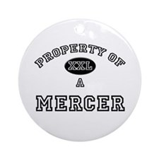 Property of a Mercer Ornament (Round)