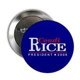 CONDI RICE PRESIDENT 2008 Button