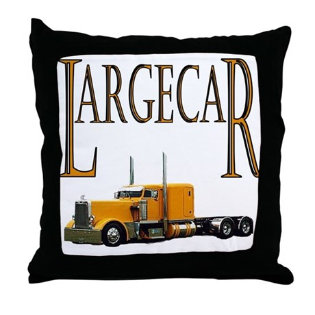 Largecar Throw Pillow
