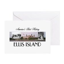 ABH Ellis Island Greeting Card