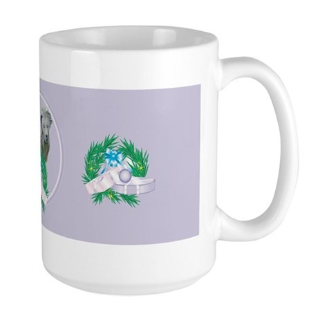 Mini Silky Goat Large Mug