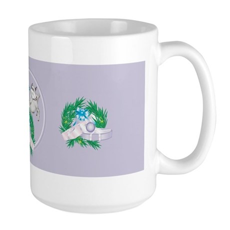 Saanen Goat Baby's First Large Mug