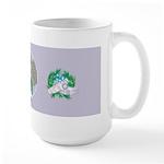 Angora Goat Mishka Large Mug