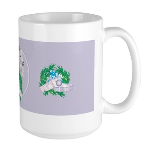 Angora Goat Gruffly Large Mug