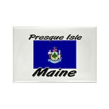Presque Isle Maine Rectangle Magnet