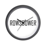 Rowsdower Wall Clock