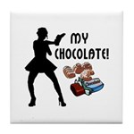 My Chocolate Tile Coaster