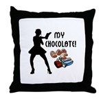 My Chocolate Throw Pillow