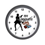 My Chocolate Wall Clock