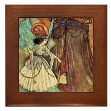 Dulac Fairy Framed Tile