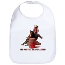 Barrel Racing, Good Turn. Bib