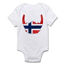 Norway Viking Helmet Infant Bodysuit
