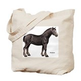 Percheron Horse Tote Bag