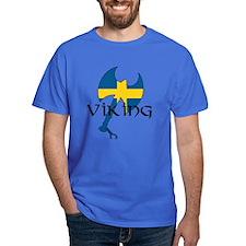 Swedish Viking Axe T-Shirt