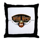 Wild West Show Throw Pillow