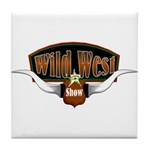 Wild West Show Tile Coaster