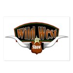 Wild West Show Postcards (Package of 8)
