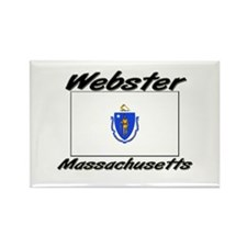 Webster Massachusetts Rectangle Magnet