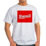 AL SHARPTON PRESIDENT 2008 Ash Grey T-Shirt