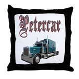 Petercar Throw Pillow