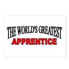 """The World's Greatest Apprentice"" Postcards (Packa"