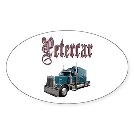 Petercar Oval Sticker