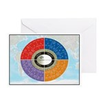 Capstone Circle Greeting Card