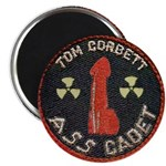 Tom Corbett Ass Cadet Patch - Magnet