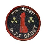 Tom Corbett Ass Cadet Patch - Ornament (Round)