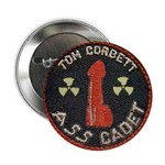 Tom Corbett Ass Cadet Patch - Button (100 pack)