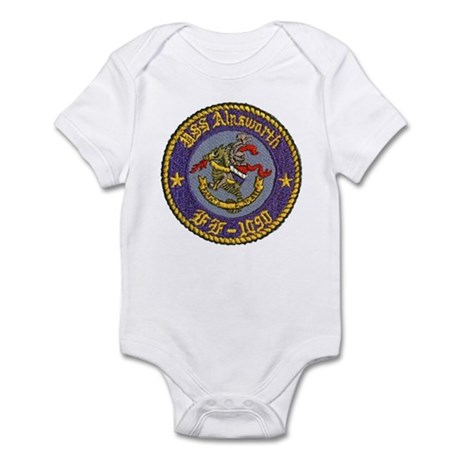 USS AINSWORTH Infant Bodysuit
