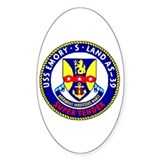 USS Emory S. Land (AS 39) Oval Decal