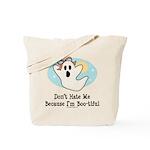 Halloween Bootiful Ghost Tote Bag