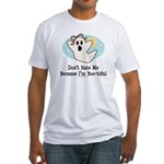 Halloween Bootiful Ghost Fitted T-Shirt