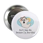 Halloween Bootiful Ghost Button