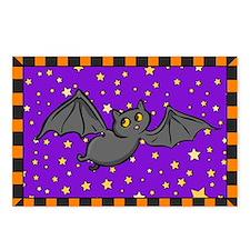 Cute Bat Postcards (Package of 8)