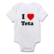 I heart Teta Infant Bodysuit