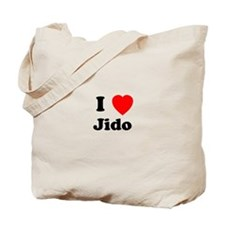 I heart Jido Tote Bag