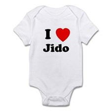I heart Jido Infant Bodysuit