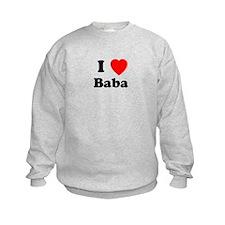 I heart Baba Sweatshirt