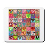 Heart Quilt Mousepad