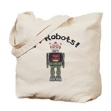 I Love Robots! Tote Bag