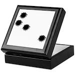 Bullet Holes Keepsake Box