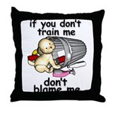 Train me Throw Pillow