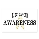 Lung Cancer Awareness 1 Postcards (Package of 8)