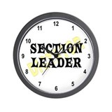 Section Leader Wall Clock
