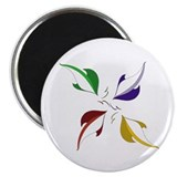 "Cool Pinwheel 2.25"" Magnet (10 pack)"
