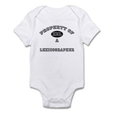 Property of a Lexicographer Infant Bodysuit